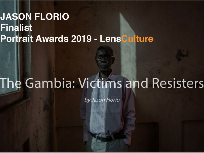 Jason Florio Finalist Portraits Awards 2019 - LensCulture 'Gambia - victims and resisters