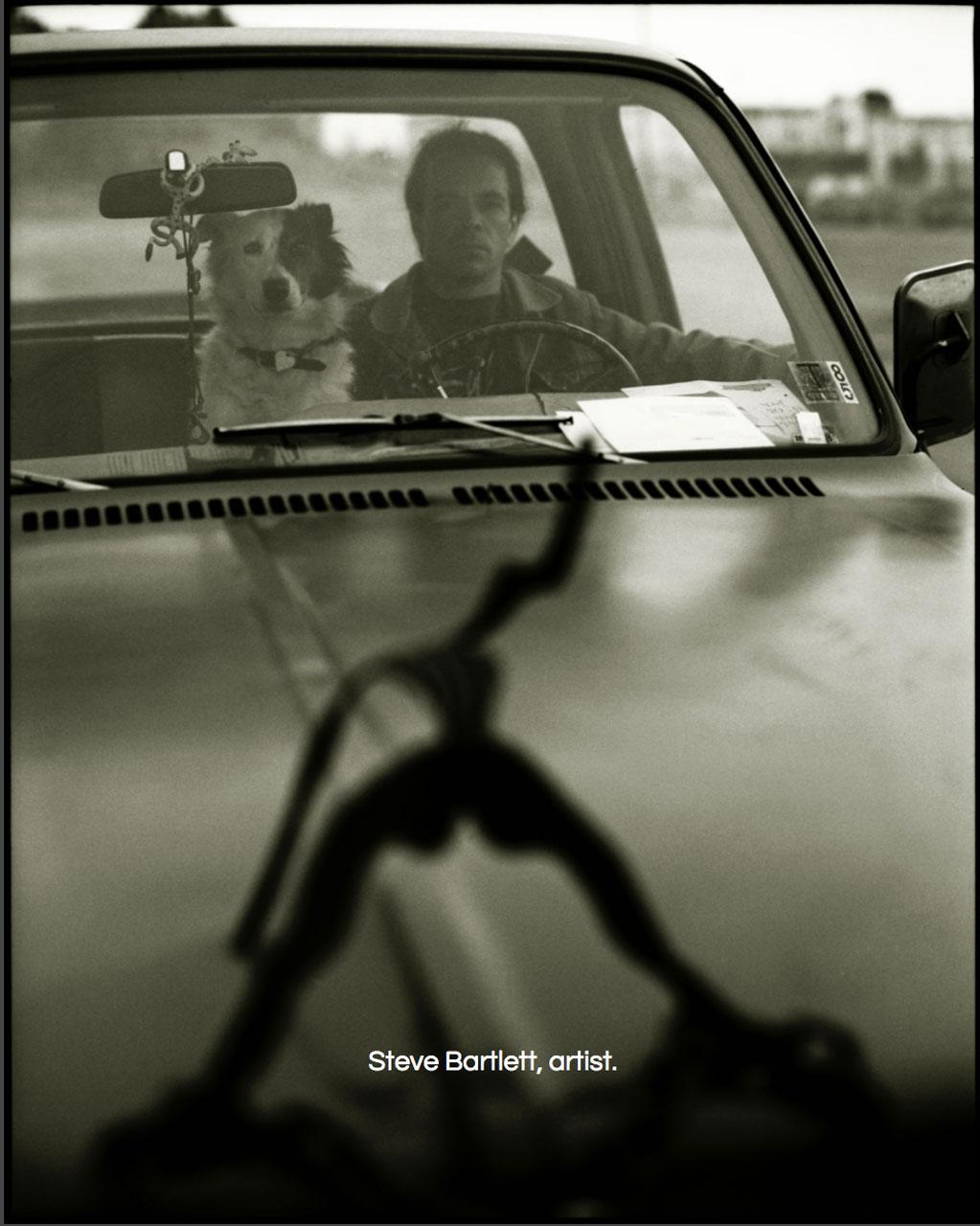 Portrait - Artist, Steve Bartlett ©Chris Bartlett