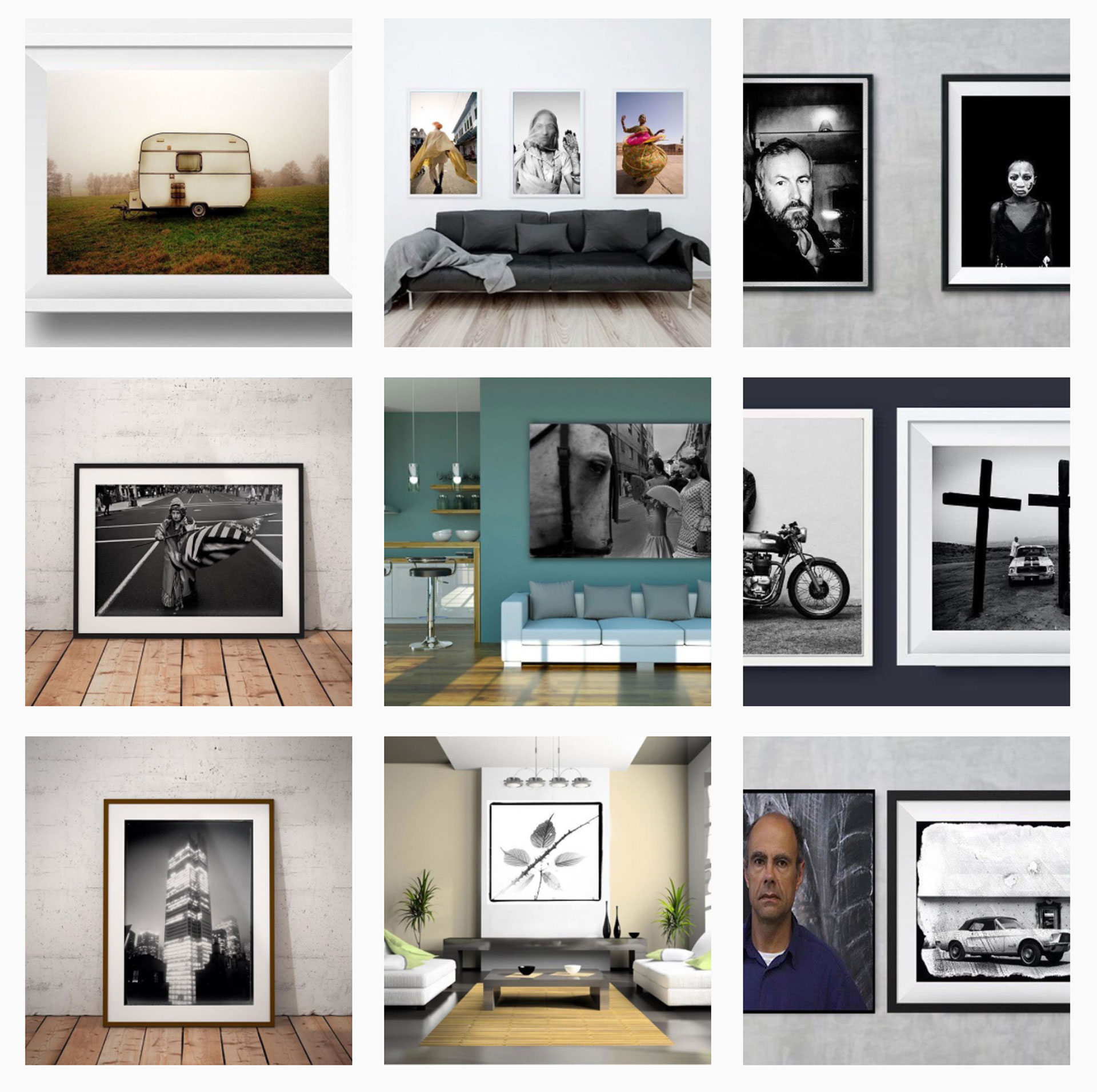 Interior Design Inspiration - daily fine art photography prints updates on Instagram
