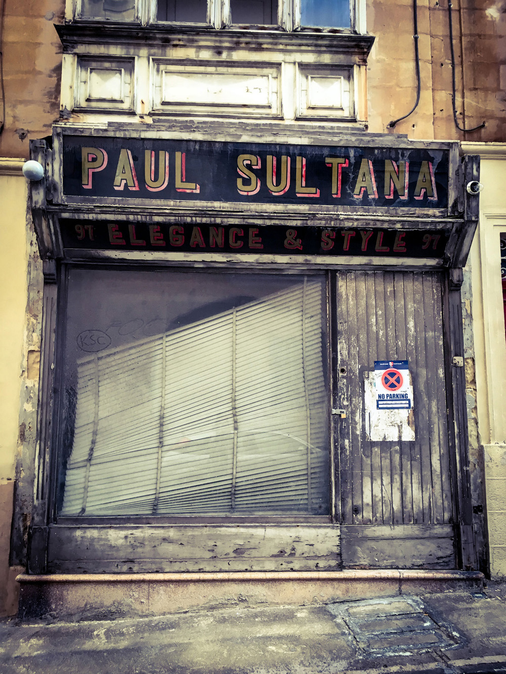 """Wabi-sabi doors and facades of Malta"