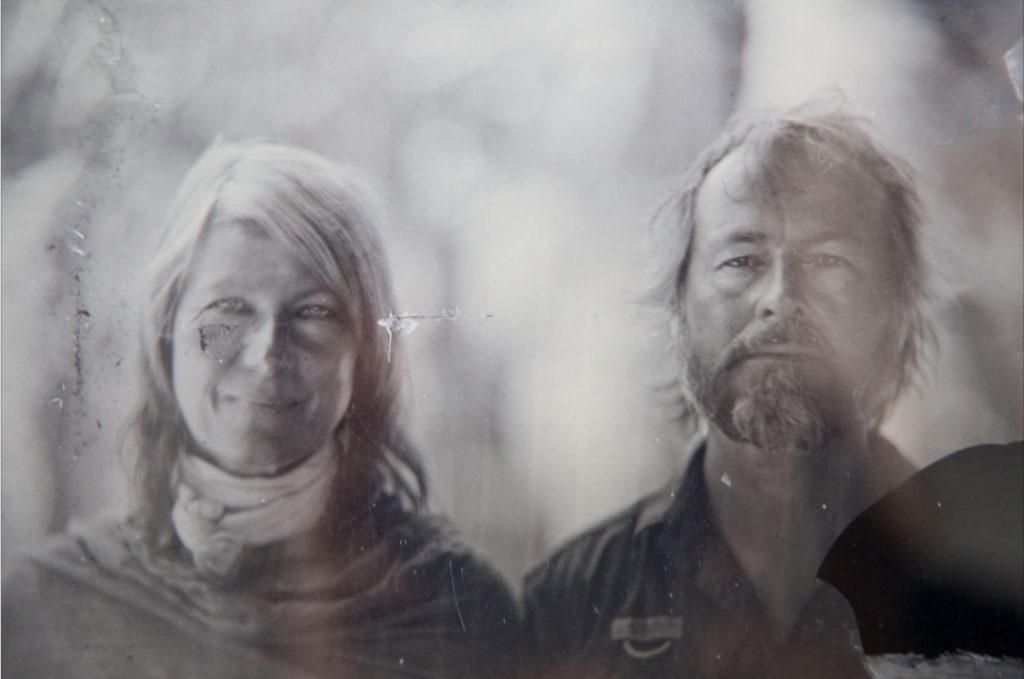Helen Jones-Florio & Jason Florio - Collodion process portrait image ©Marcin Seweryn Andrzejewski