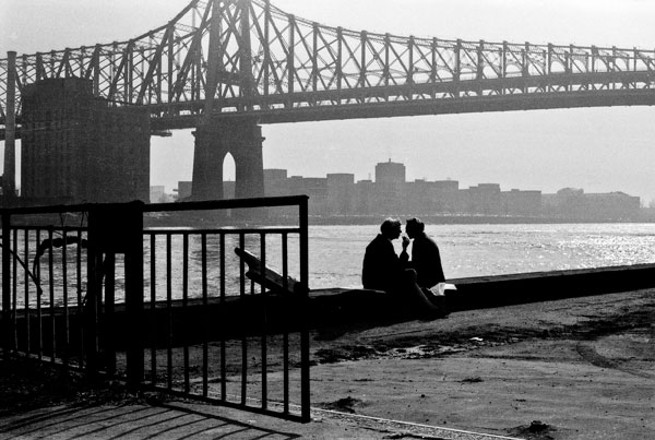 '59th St. Bridge' NYC 1973 - black and white photography prints © Jeff Rothstein