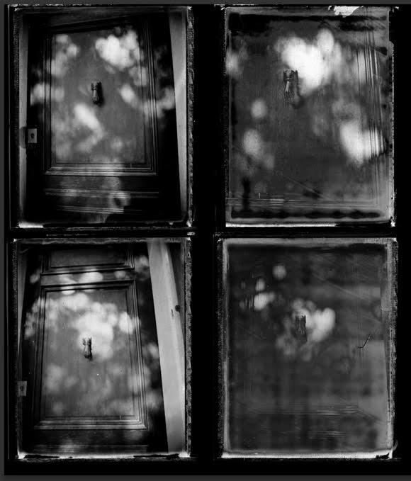 Cezanne's door #1 - ©Michel Delsol black and white prints x 4