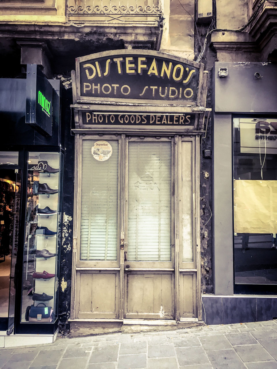 disappearingMalta - Di Stefano's Photo Studio, St Julians, Malta ©Helen Jones-Florio photography prints