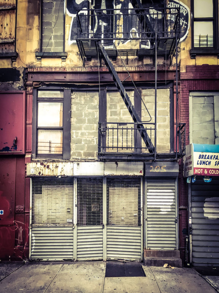 #DisappearingNewYork: derelict store, 7th Ave, New York City ©Helen Jones-Florio
