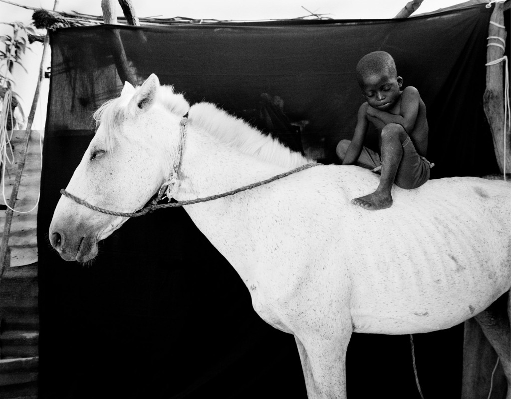 ©Jason Florio - Ismaila on his Horse, Jumpex, The Gambia, West Africa. From the award-winning 'Makasutu' series of portraits