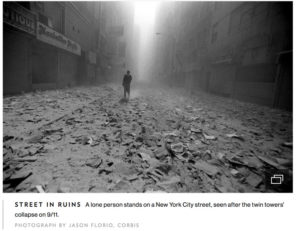 9/11 Remembered - National Geographic. Image © Jason Florio