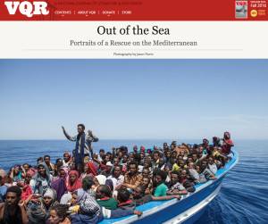 VQR Magazine - The rescue of hundreds of migrants and refugees, in the Mediterranean Sea ©Jason Florio/MOAS.EU