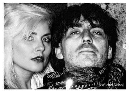 Photographers We Love Michel Delsol: Debbie Harry and Chris Stein, NYC