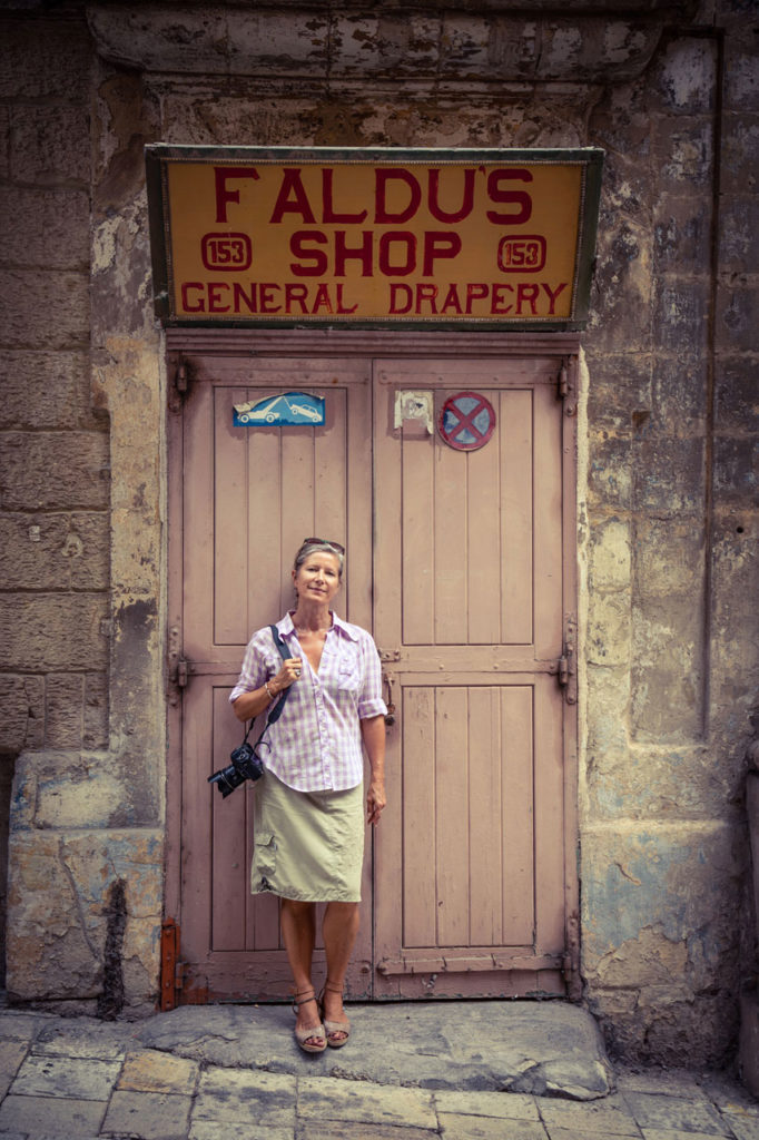 DisappearingMalta - bio image of Helen Jones-Florio, Faldus Shop, Valletta, Malta ©Jason Florio