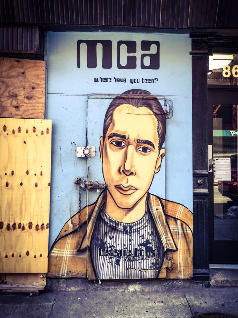 #DisappearingNewYork: Beastie Boys (MCA) Door - Meatpacking District, NYC ©Helen Jones-Florio