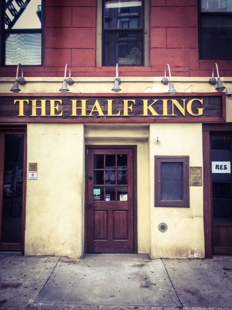 #DisappearingNewYork: Closed down - The Half King, bar and restaurant, West 23rd St, NYC © Helen Jones-Florio