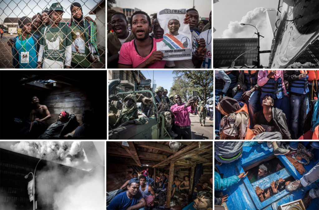 Podcast Jason Florio - images by award-winning photojournalist and filmmaker from 9-11, The Gambia, migrant rescues - interview with Neale James/Breathe Pictures