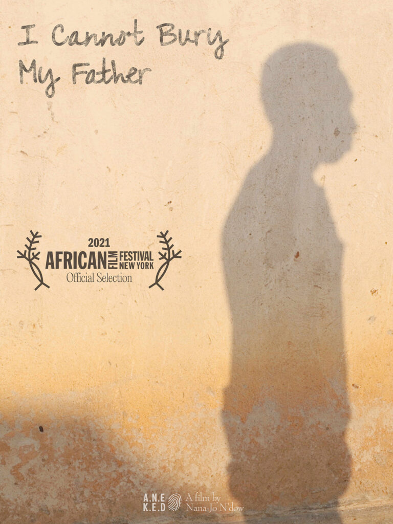Advertising the screening of 'I Cannot Bury My Father' short documentary at the African Film Festival, New York. Director of Photography - Jason Florio